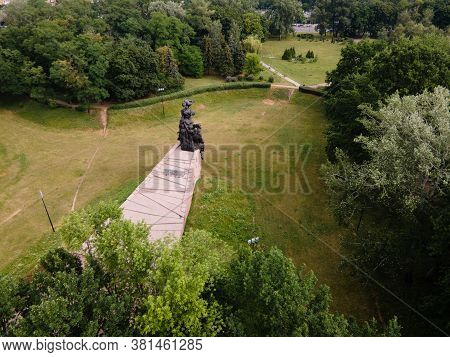 Babi Yar. The Place Of The Murder Of Jews During The Second World War.