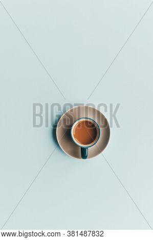 Minimal Flatlay Design Or Tea Cup Flatlay