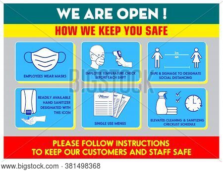 Health And Safety Protocols Or Best Practices Retail Food Store
