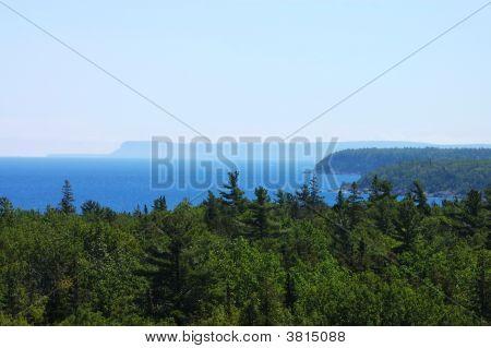 Aerial View Of Georgian Bay