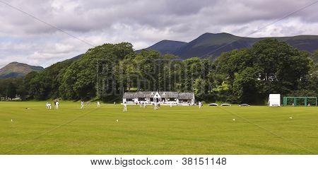 At Fitz Park, Loveliest Cricket Ground In England