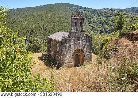 Romanesque Church In Spain. San Xoan Da Cova. Ribeira Sacra