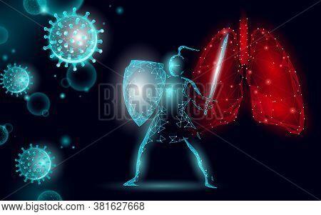 Knight Power Shield Safety Sword. Health Safety Pneumonia Treatment Shield Coronavirus. Asia Contine