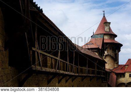 Burg Kreuzenstein Castle In Leobendorf, Near Vienna (austria)