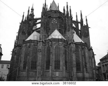 Imposing Gothic Building