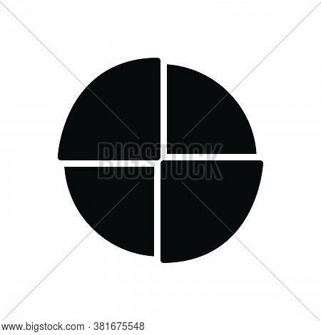 Black Solid Icon For Piechart Diagram Blueprint Ground-plan Layout Chart Draft Circular Graph Infrog