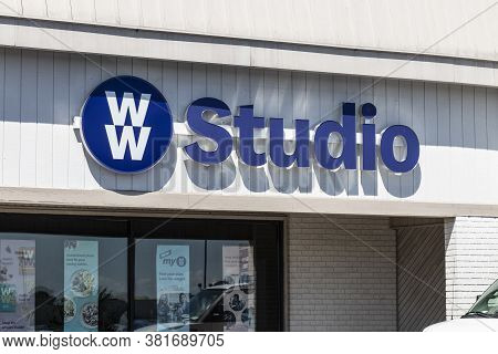 Indianapolis - Circa August 2020: Ww International Studio, Formally Weight Watchers Location. Ww Off
