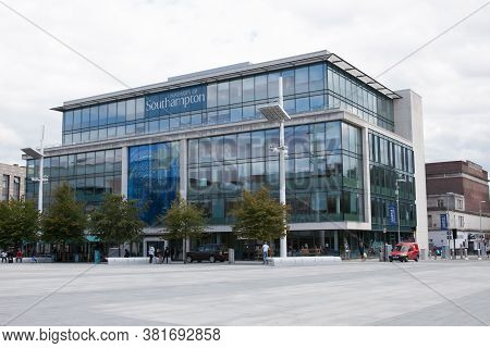 The University Of Southampton In The City Centre In Hampshire In The Uk, Taken On The 10th July 2020
