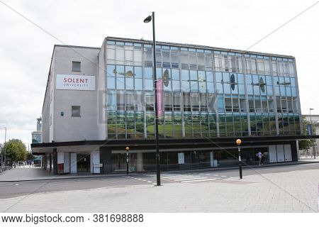 The Solent University Building In Southampton, Hampshire In The Uk, Taken On The 10th July 2020
