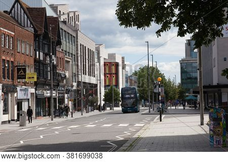 Views Of Above Bar Street In Southampton, Hampshire In The Uk, Taken On The 10th July 2020