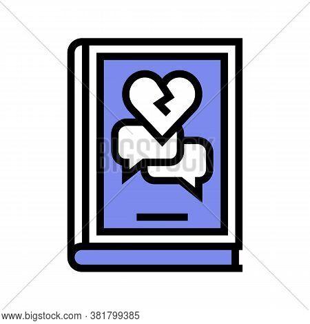 Drama Genre Color Icon Vector. Drama Genre Sign. Isolated Symbol Illustration