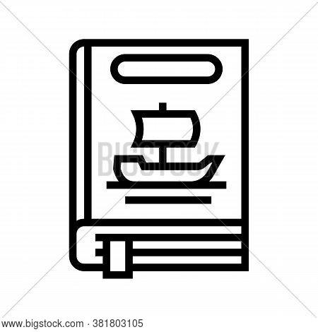 Legend Genre Line Icon Vector. Legend Genre Sign. Isolated Contour Symbol Black Illustration