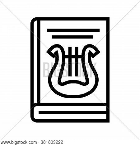 Folklore Genre Line Icon Vector. Folklore Genre Sign. Isolated Contour Symbol Black Illustration