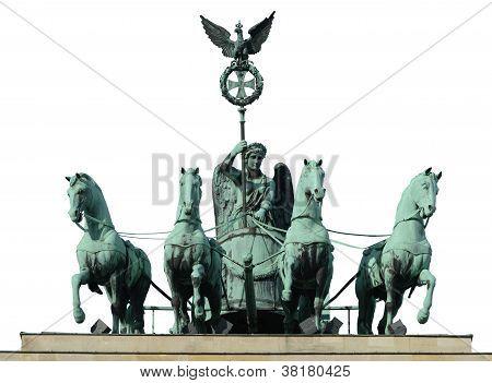 Four Horse On Brandenburg Gate