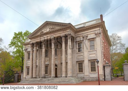 Old City Cultural District, Philadelphia. Pennsylvania, United States - April 23, 2011: The First Ba