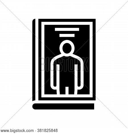 Biography Genre Glyph Icon Vector. Biography Genre Sign. Isolated Contour Symbol Black Illustration