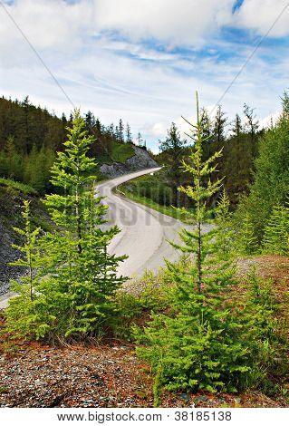 Passage, Mountain Road, Altai, Russia