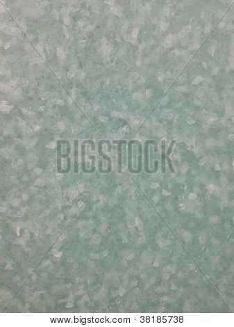 Green plexiglas background wall