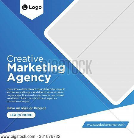 Digital Marketing Agency Social Media Post Banner Template