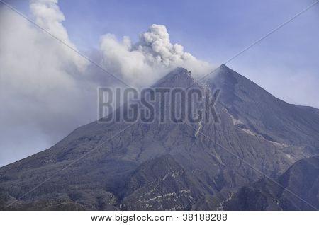 Merapi Volcano - Central Java - Indonesia