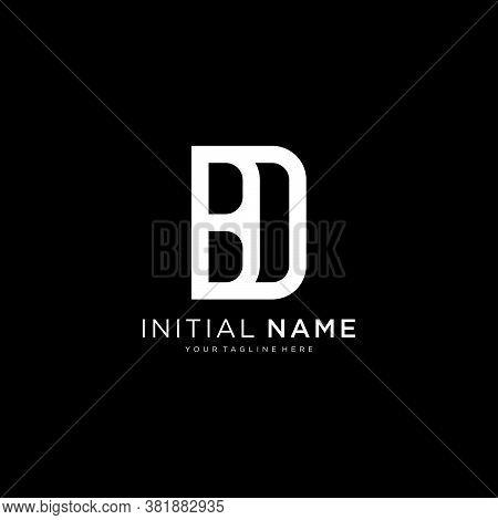 Bd Db Abstract Initial Monogram Letter Alphabet Logo Design