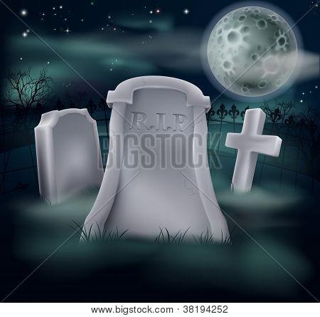Spooky Grave