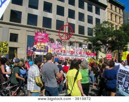 Stop The War/Impeach Bush/Cheney Rally
