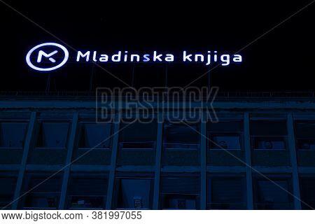 Ljubljana, Slovenia - August 13, 2020: The Building Of The Slovenian Publishing House Mladinska Knji