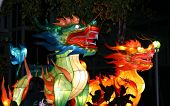 TORONTO ON- OCT 11: Dragons at Chinese Lantern Festival October 11 2008 in Toronto ON. poster