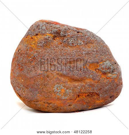 Iron ore - Magnetite from Island of Elba, Italy.