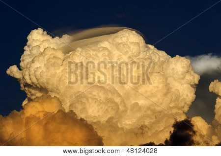 Puffy Storm Clouds