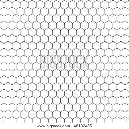 Repeatable Chicken Wire Pattern