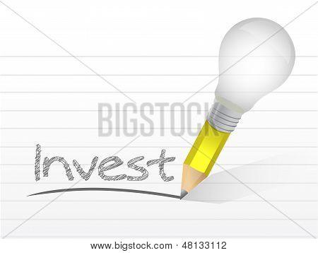Invest Message Illustration Design