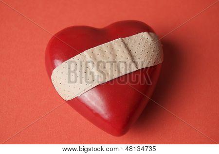 Com o coração partido