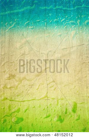vintage green blue background
