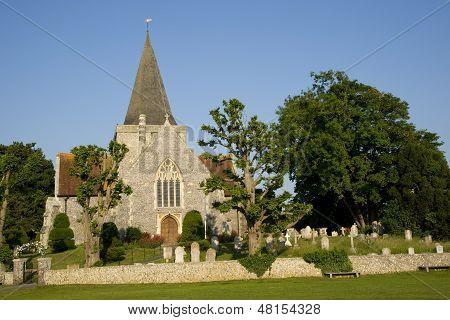 Old English village Church