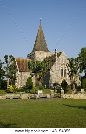 English 14th century Church