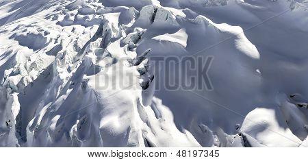 Saas Fee Glacier