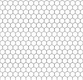 This is a chicken wire pattern that has been cropped to allow repeatability. Isolated. poster