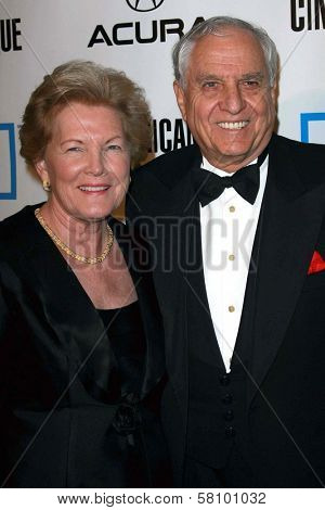 Barbara Marshall and Garry Marshall at The 22nd Annual American Cinematheque Awards honoring Julia Roberts. Beverly Hilton Hotel, Beverly Hills, CA. 10-12-07