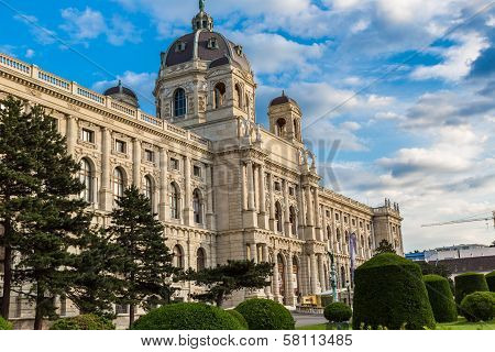 Museum Of Natural History In Vienna, Austria
