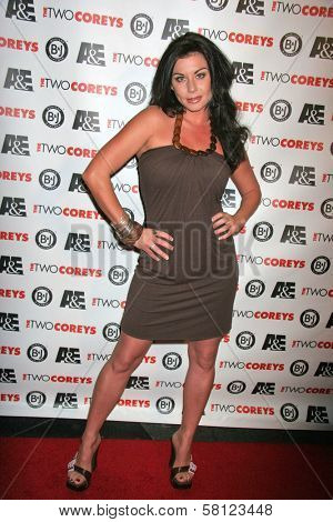 Alix Agar at the A and E Premiere of