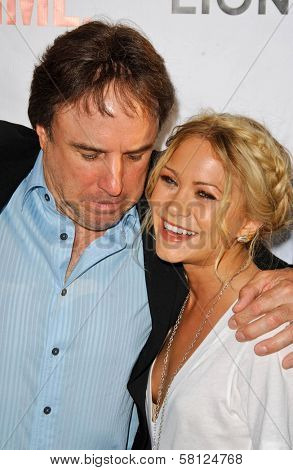 Kevin Nealon and Mary-Kate Olsen at the
