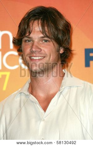Jared Padalecki in the press room of the 2007 Teen Choice Awards. Gibson Amphitheater, Universal City, CA. 08-26-07