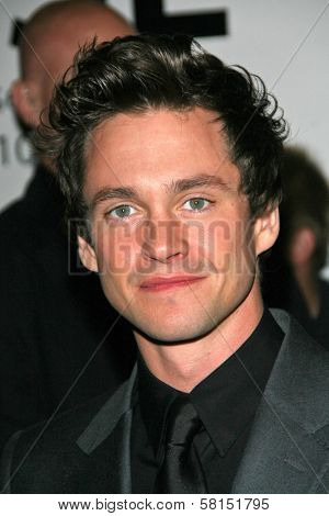 Hugh Dancy at the premiere of