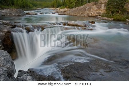 Elbow Falls from above