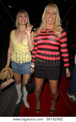 Rena Riffel and Mary Carey at the Los Angeles Party for