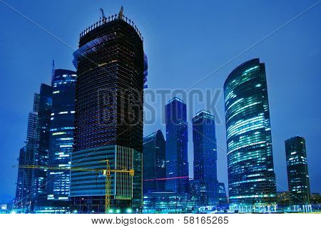 Construction Moscow Business The Centre