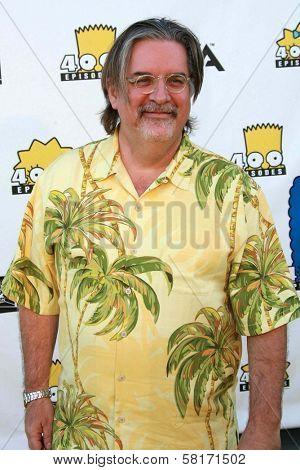 Matt Groening  at The Simpsons 400th Episode Block Party. 20th Century Fox Studios, Century City, CA. 05-08-07