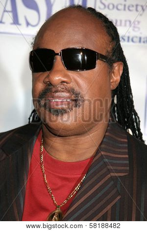 Stevie Wonder at the 15th Annual American Society of Young Musicians Spring Benefit Concert and Awards. Scientology Center, Hollywood, CA. 06-07-07